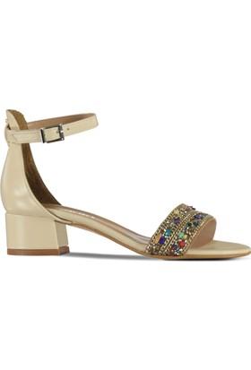 Marjin Kalid Topuklu Ayakkabı Bej