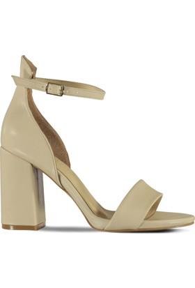 Marjin Nelipa Topuklu Ayakkabı Bej