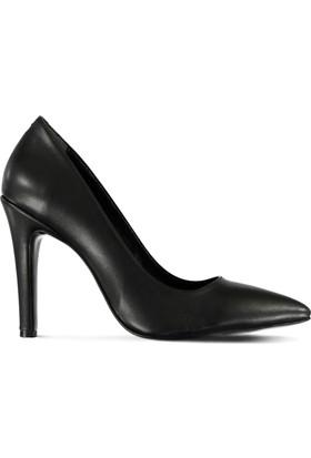 Marjin Almis Topuklu Ayakkabı Siyah