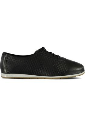 Marjin Tiles Düz Deri Ayakkabı Siyah