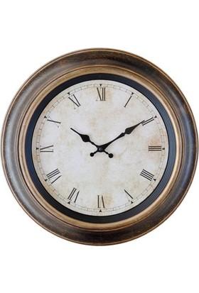 GizHome Vintage Saat 1802B-Tr04 Kahverengi Roma Rakamlı