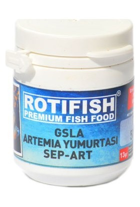Rotifish GSLA Sep-Art Artemia Yumurtası 13 gr