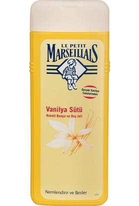 Le Petit Marseillais Vanilya Sütü Duş Jeli 400 ml