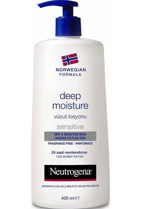 Neutrogena Deep Moisture Parfümsüz Vücut Losyonu 400 Ml