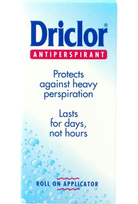 Driclor Solution Roll-on 20 ml - Antiperspirant