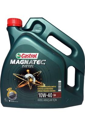Castrol Magnatec 10W-40 652002 Dizel Motor Yağı 4 lt (Üretim Yılı 2017)