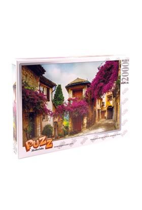 Puzz 2000 Parça Yapboz Begonvil Sokağı