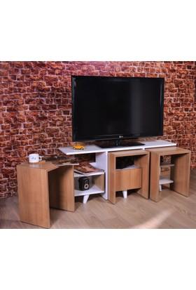 Hepsiburada Home Zigon Sehpalı Tv Ünitesi