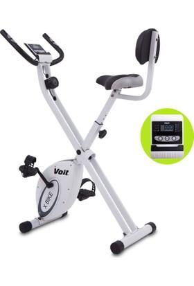 Voıt X-Bıke Egzersiz Bisikleti New Beyaz-Gri