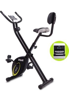 Voıt X-Bıke Egzersiz Bisikleti New Siyah-Sarı