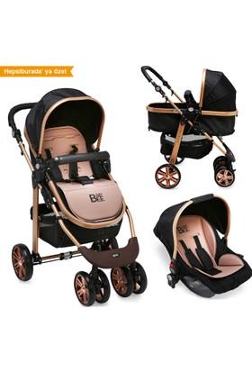 Babybee 540 Gold Seyahat Sistem Bebek Arabası 3 In 1