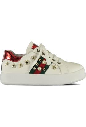 Marjin Viton Spor Ayakkabı Beyaz