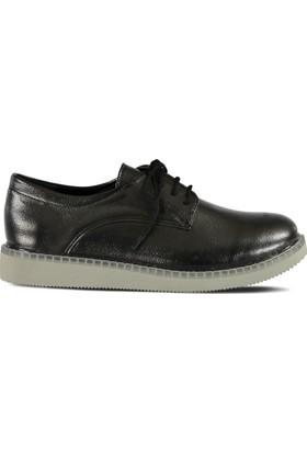 Marjin Namil Düz Ayakkabı Platin