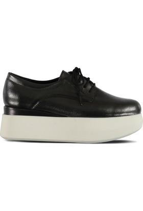 Marjin Tion Düz Ayakkabı Platin