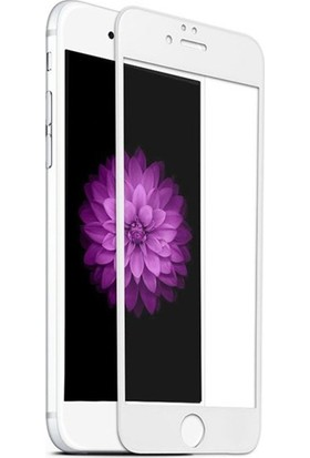 Eretna Apple iPhone 8 7D 9H Cam Full Ekran Koruyucu - Beyaz