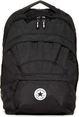 Converse Backpack Double D Computer Bag 410481 Siyah Sırt Çantası
