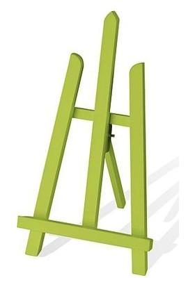 idora Masaüstü Renkli Dekoratif Şövale - Açık Yeşil