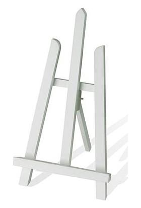 hobi24 Masaüstü Renkli Dekoratif Şövale - Beyaz