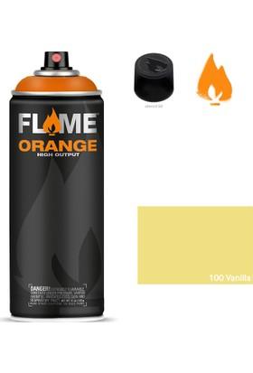 Flame Orange 400ml Sprey Boya N:100 Vanilla