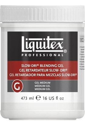 Liquitex Slow-Dri Blending Gel Medium 473ml