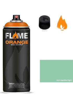 Flame Orange 400ml Sprey Boya N:664 Menthol Light