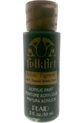 Plaid Folkart Artist Pigment Akrilik Boya 59ml - N:46Hauser Green Dark
