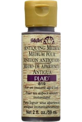 Plaid Antiquing Eskitme Mediumu Country Füme Siyah 813 - 59ml