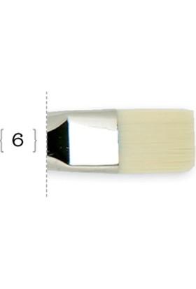 Liquitex Free Style Düz Kesik Uç Fırça No.6