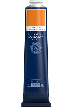 Lefranc&Bourgeois Fine Yağlı Boya 150ml - Cadm Orange Hue