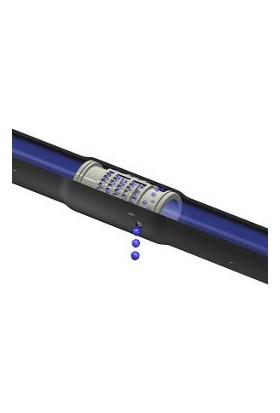 Mgf Plast Kendinden 25 cm Delik Aralıklı Damla Sulama Borusu - 400 Metre Rulo