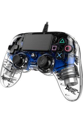 Nacon Ps4 Nacon Wired Compact Light Blue - PS4 Nacon Şeffaf Mavi