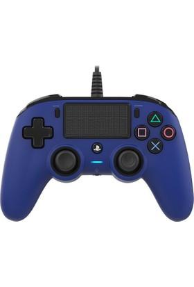 Nacon Ps4 Nacon Wired Compact Blue - PS4 Nacon Mavi