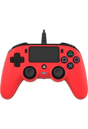 Ps4 Nacon Wired Compact Red