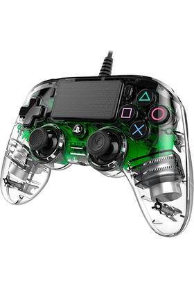 Nacon Ps4 Nacon Wired Compact Light Green - PS4 Nacon Şeffaf Yeşil