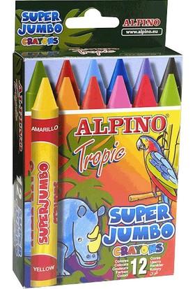 Alpino 12'li Tropic Pastel Boya
