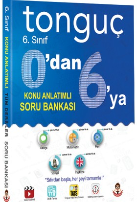 Tonguç Akademi Yayınları 0'dan 6'ya Konu Anlatımlı Soru Bankası