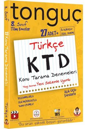 Tonguç Akademi Türkçe Konu Tarama Denemeleri (8. Sınıf)