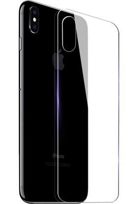 Microcase Apple iPhone X Arka Tempered Glass Cam Ekran Koruyucu