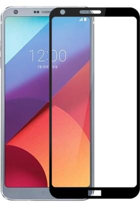 Microcase LG G6 Çerçeveli Tempered Glass Cam Ekran Koruyucu