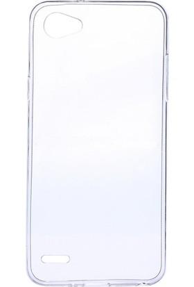 Microcase LG Q6 0.2 Mm İnce Soft Silikon Kılıf + Nano Glass Ekran Filmi