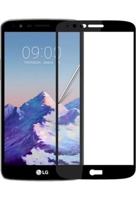 Microcase LG Stylus 3 Siyah Çerçeveli Tempered Glass Ekran Koruyucu
