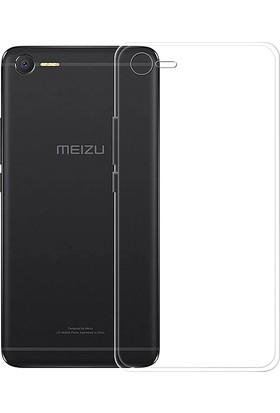 Microcase Meizu E2 5.5 İnch Ultra İnce Soft Silikon TPU Kılıf