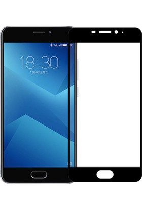 Microcase Meizu M5 Note Flexible Çerçeveli Esnek Tempered Cam Ekran Koruyucu