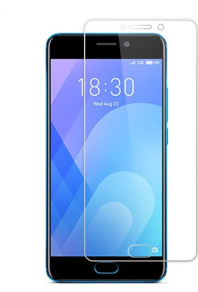 Microcase Meizu M6 Note 5.5 İnch Tempered Glass Cam Ekran Koruyucu