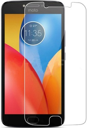 Microcase Motorola Moto E4 Plus Tempered Glass Cam Ekran Koruyucu