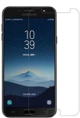 Microcase Samsung Galaxy C8 Tempered Glass Cam Ekran Koruyucu