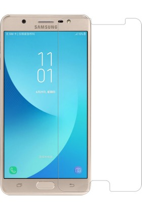 Microcase Samsung Galaxy J7 Max Tempered Glass Cam Ekran Koruyucu