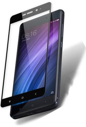 Microcase Xiaomi Mi 5X A1 Çerçeveli Tempered Glass Cam Ekran Koruyucu