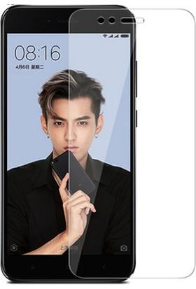 Microcase Xiaomi Mi 5X Tempered Glass Cam Ekran Koruyucu