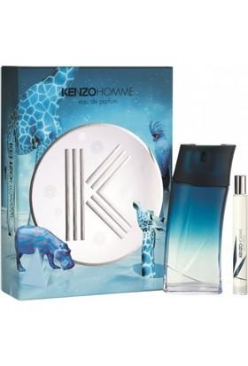 Kenzo Homme Erkek Parfüm Seti EDP 100ML + 15ML